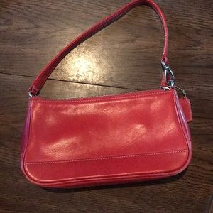Handbags - Red Coach shoulder purse